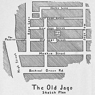 The Old Jago Sketch Plan